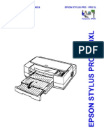 Epson Stylus Pro, Stylus Pro XL Service Manual