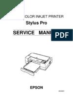 epson 7600 9600 field repair guide printer computing menu rh scribd com Epson 9600 Printer Driver Epson LG 7100