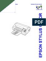 Epson Stylus Color Service Manual