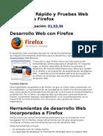 Desarrollo Rápido y Pruebas Web con Mozilla Firefox