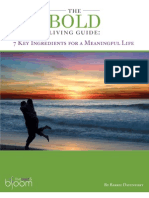 The Bold Living Guide