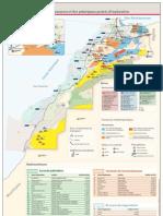 Carte des ressources du sous-sol marocain et projets d'exploration (2012)