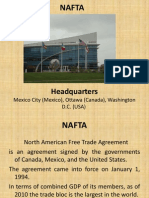 NAFTA PPT by Salman Danish