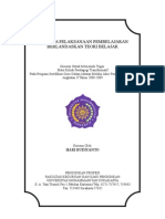 RPP Berbasis Teori Belajar