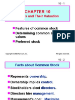 Ch 10 Show for Stock Valuation