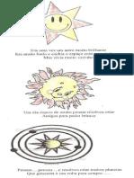 História sobre o sistema solar