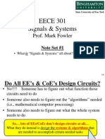 EECE 301 Note Set 1 Overview