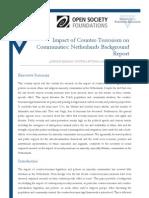 Impact of Counter-Terrorism on Communities- Netherlands Background Report
