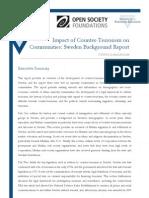Impact of Counter-Terrorism on Communities- Sweden Background Report