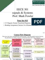 EECE 301 Note Set 15 FT Properties