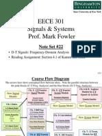 EECE 301 Note Set 22 DTFT Motivation