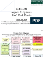 EECE 301 Note Set 29 CT Transfer Function
