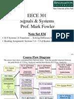 EECE 301 Note Set 34 DT Using ZT to Solve