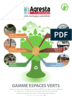 Catalogue - Espaces Verts - AGRESTA