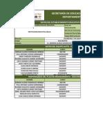 MatrizControl_AutoEval-PMI - IRACA 2012 PLENARIA 26012012 Cambios Sigce 30012012