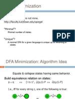 DFA Minimization2