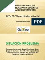 Consulte la presentación de la profesora María Magdalena Ramírez
