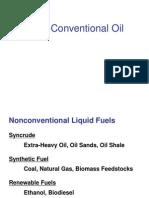 Non Conventional Oil 3-10-08