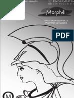 Revista Morphe-Editorial Al Facultatii de Filosofie UB