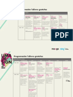 Lima Design 3 - Talleres Gratuitos