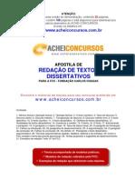 Apostila de Redação de Textos Discursivos para a Fundação Carlos Chagas (FCC)