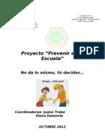 Prevenir en La Escuela
