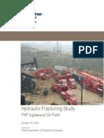 Hydraulic Fracturing Study Inglewood Field10102012