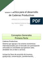Guía Practica para el desarrollo de Cadenas Productivas