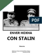 Enver Hoxha - Con Stalin