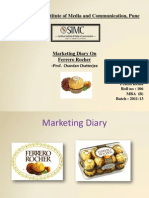 Marketing Diary- Ferraro Rocher