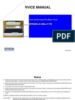 Epson LX-300+, LX-1170 Service Manual