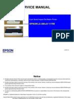 Epson LX-300+II, LX-1170II (Em Ingles) Service Manual