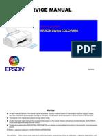 Epson SC-660 Service Manual
