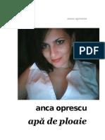 Anca Oprescu - Apa de Ploaie