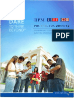 Prospectus 2011 12