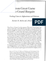 From Great Game to Grand Bargain