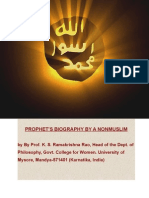 Prophet's Biography by a Non Muslim