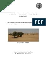 Archaeological Survey of El - Hayez
