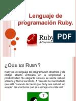 Características de Ruby