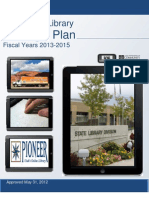 Utah State Library Strategic Plan 2013-2015
