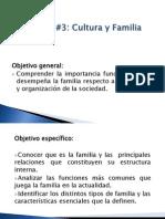 Clase Magistral No. 9- Unidad #3Cultura y Familia
