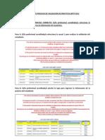 Instructivo Proceso de Validación de Prácticas BPTP 2012x