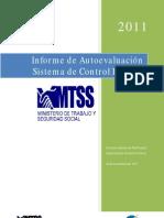 Informe de Autoevaluación del Sistema de Contol Interno