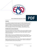 ELSO Guidelines for ECMO Centers