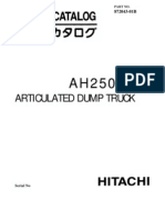 Ah250 Hitachi Truck Parts Catalog