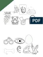Imagens Listas de Palavras Vogais