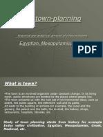 Egypt Greece & Mesopotamian Town Planning