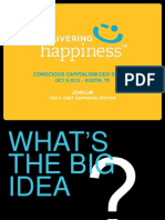 """Conscious Capitalism CEO Summit """"The Big Idea"""" Delivering Happiness - Jenn Lim"""