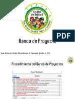Presentacion Banco de Proyectos