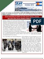 COESGR Newsletter October 2012(PII)